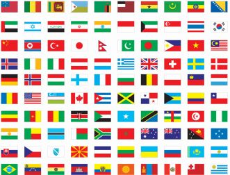 13431654611484957827free vector flags of the world
